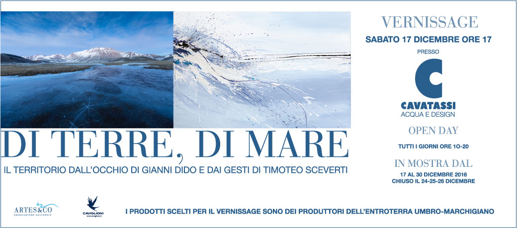 di terre. di mare: vernissage